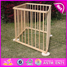 2015 New outlets wooden outside folding baby playpen,Round or Square luxury baby playpen,large playpen for babies W08H006-S