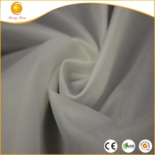 100% dacron polyester cloth lining material fabric for bags