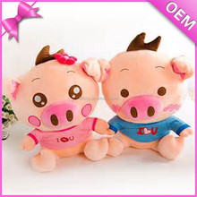top selling products handmade walking stuffed animal mini pig toy