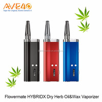 Glass Mouthpiece Dry Herb Vaporizer Flowermate