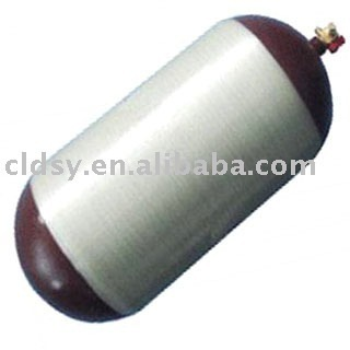 CNG cylinder for vehicles with ECE R110