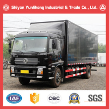 Dongfeng 4x2 6 Wheeler Cargo Van Price/Brand New 10T Box Truck For Sale