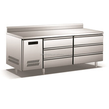 6 Drawers Commercial Catering Equipment Kitchen Underbar Freezer