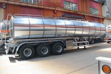 Fuel Cooking Diesel Crude Aluminium alloy 30~60CBM tanker truck china cars in pakistan