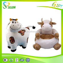 "10"" 25CM free shipping cute milk cow plush doll stuffed animal soft baby kids toy birthday&christmas gift"