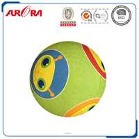 Custom rubber playground balls,cheap price playground