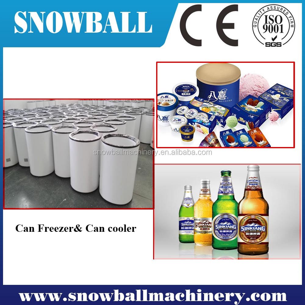 Barrel Freezer with 30L-85L Large Volume Capacity, Ideal for Ice Cream freezer