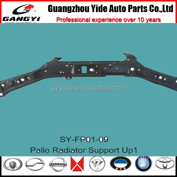 latest most popular radiator support up for FIAT motor vehicle spare parts