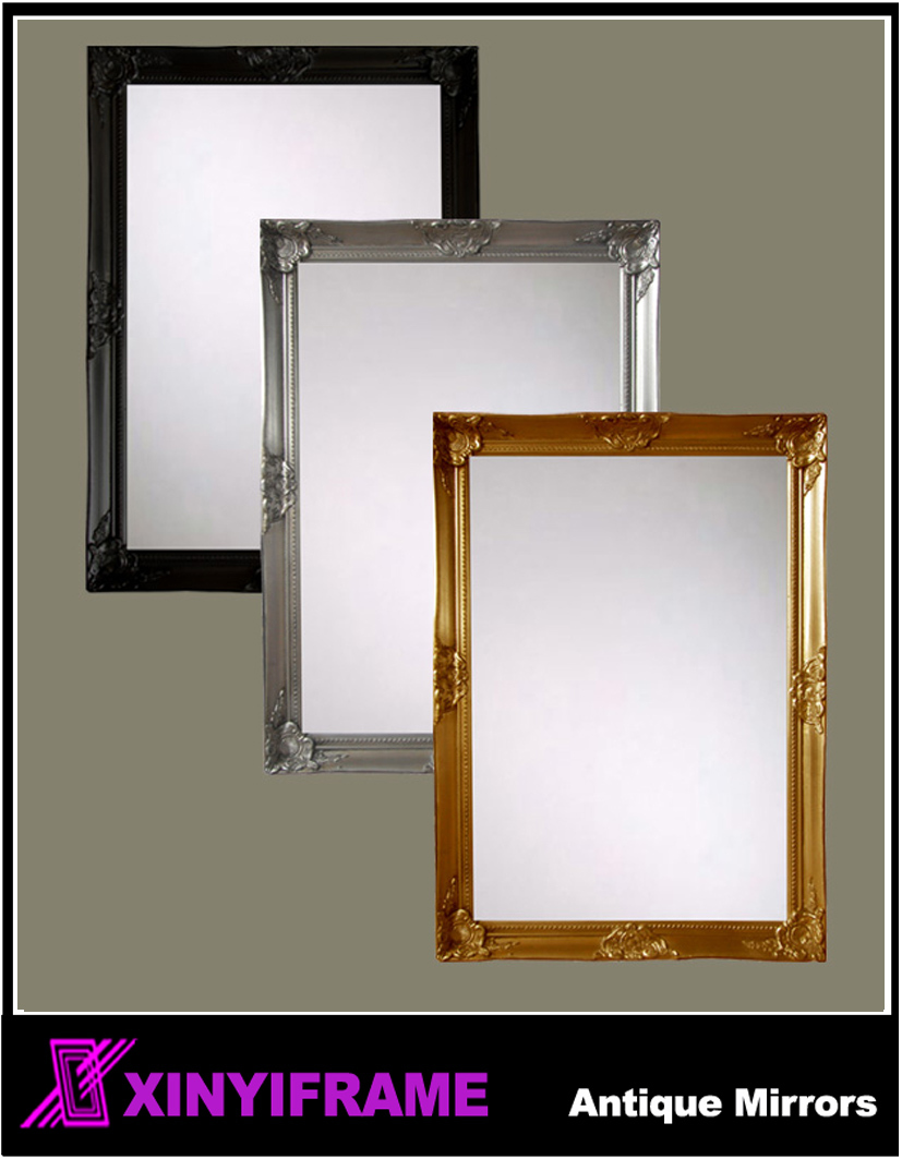 Decorative Framed Wooden Wall Mirror