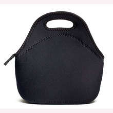 Insulated Neoprene zipper Lunch cooler Bag