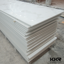 Matching color solid surface sheets with gun and glue