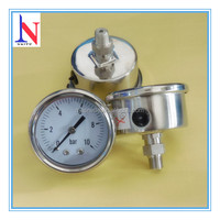 1.5 inch full stainless steel digital pressure gauge with safety requirement