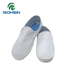China ESD white work shoes for food factory