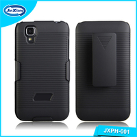 Classical style mobile celular case comb holster for Lanix S130 with low MOQ
