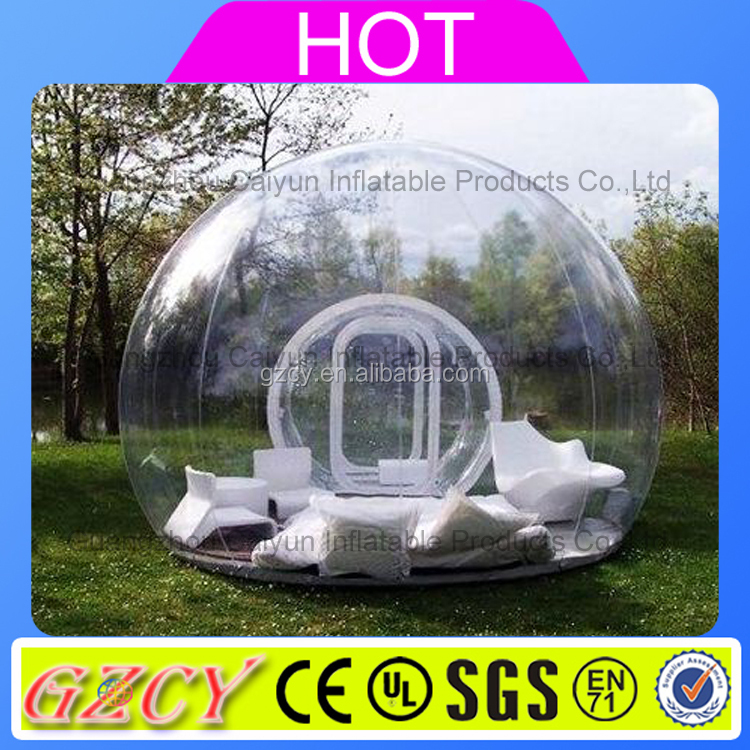 Outdoor Bubble Tent House, Transparent Inflatable Commercial Tent For Sale, Inflatable Bubble Tent House Dome