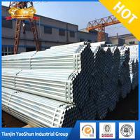 a53 grade b galvanized seamless pipe/ galvanized welded steel pipe