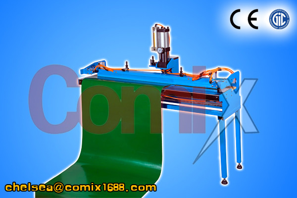 2015 COMIX 1000mm PVC PU CONVEYOR BELT FINGER MAKING PUNCH MACHINE