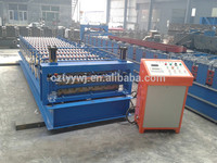 Newest Design arched steel metal roof and wall panel stamping equipment