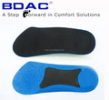 soft foam with hard TPR sheet foot support arch support flat foot insole