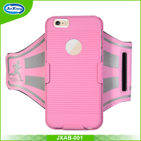 Unique design new arrival custom stretch sports armband case for iphone 6 China supplier