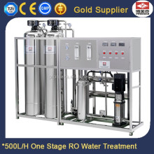 Single Stage Reverse Osmosis Hyundai Water Purifier Filter Machine