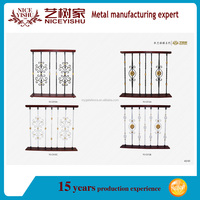 alibaba latest beautiful used outdoor modern spiral iron stair handrail / ornamental cheap modern aluminum stair railings