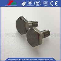 M5*20 White molybdenum phillips headed screws from China