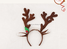 Designs Reindeer Antlers Christmas <strong>Headband</strong> kids and adults animal christmas <strong>headbands</strong>, santa christmas hairband TF04
