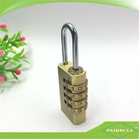 top security luggage locks digital lock 100% brass combination padlock