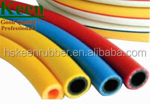 9*15mm orange pvc hose pipe for lpg gas cylinder