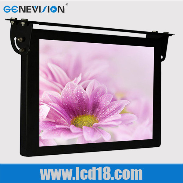 Bus Taxi Advertising Player 3g/wifi LCD 22 inch bus monitor