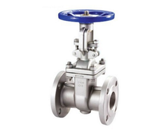 Stainless steel 4 inch water knife stem gate valve drawing for oilfield using