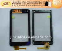 mobile phone touch screen for NOKIA N8 with frame