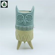 Ceramic animal cute plant pot for succulent