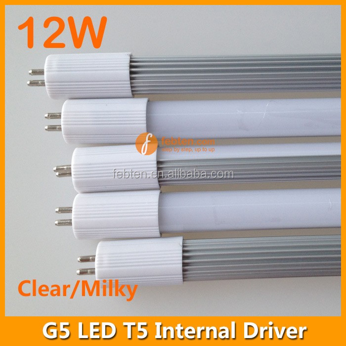 T5 clear PC cover 90cm 12W LED tube lamp