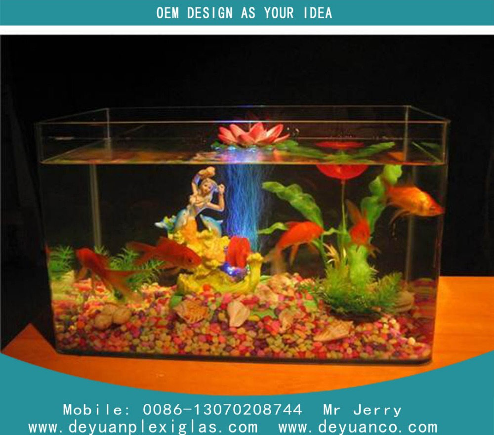 how to make an acrylic fish tank