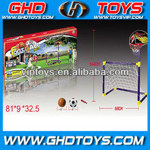 Football goal and basketball stands child sport toys