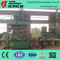 100% non asbestos cement sheet fiber cement board making machinery