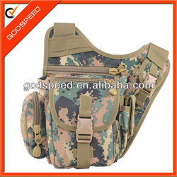 outdoor military food and wine cans cooler sling bag