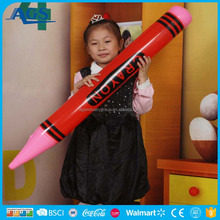 Novelty Kid PVC toy Inflatable pencil model for promotion