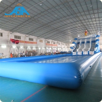 Giant Inflatable Amusement Park/ Land Water Park Playground Slide and Pool for Sale