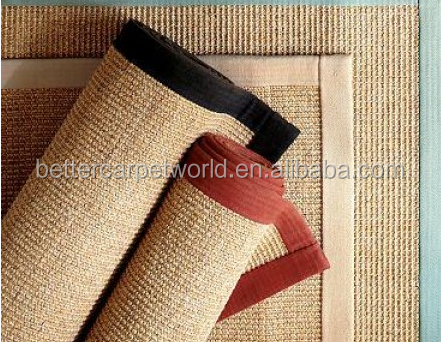hot-sale jacquard sisal carpet with diamond different shape looking for Japan distributor