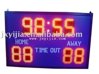 New electronic led portable basketball scoreboard