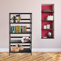 New design modern commercial furniture steel goods free standing metal storage rack