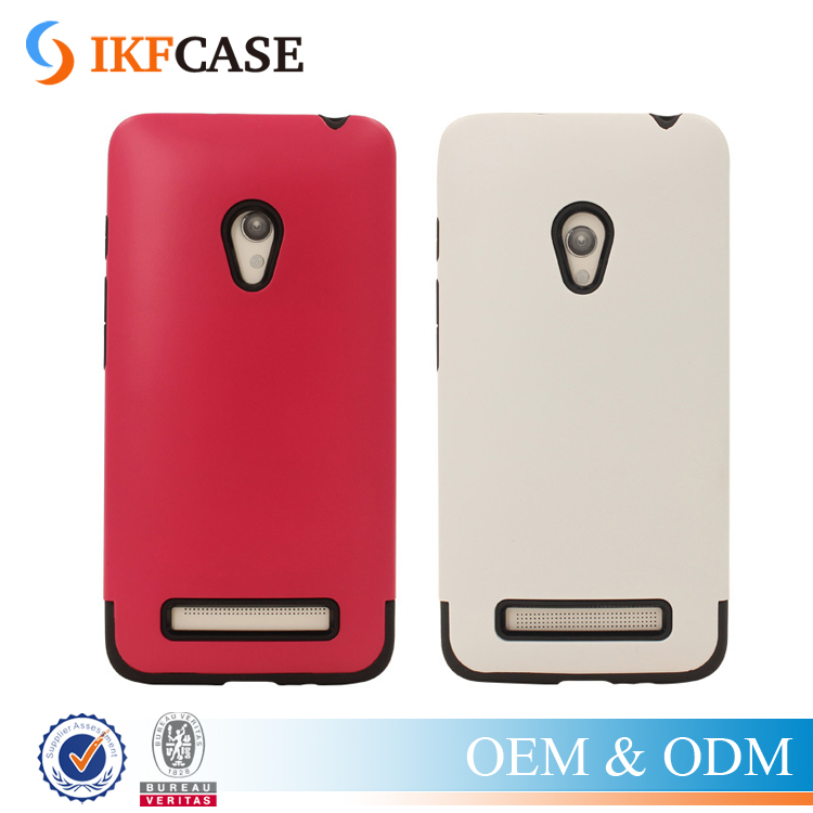 2 in 1 Colorful Hybrid Rugged Armor Case For Asus Zenfone 5 TPU PC Anti-knock Phone Back Cover