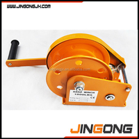China Manufacturer Auto Brake Hand Winch Manual Winch