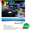 Factory led car head lamp,30W 3000lm H7 h1 h4 led car head lamp