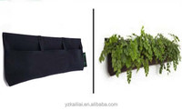 garden wall hanging window plant flower grow bags