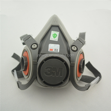 Famous Brand Original 3m 6200 Half Facepiece Masks/Industrial Dust Working Mask /Safety Face Respirator