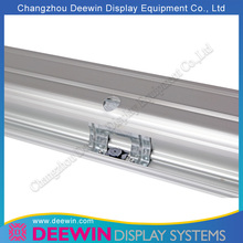 New Arrival Exhibition Portable Banner Stand / Display Background Stand with Alu. Top Profile